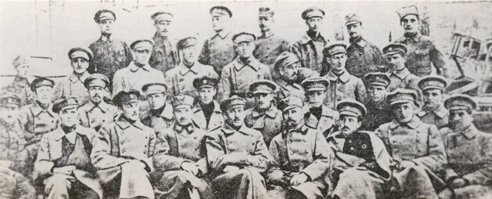 Image - Officers of the Sich Riflemen and the representatives of the Ukrainian Sich Riflemen in Kyiv in 1918.