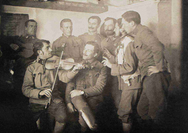 Image - The Ukrainian Sich Riflemen theater musical group.