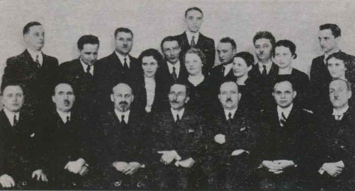 Image - Direstors and administrators of the Silskyi Hospodar society in 1938.