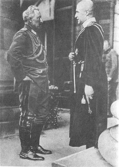 Image - Kaiser Wilhelm II of Germany and Hetman Pavlo Skoropadsky of Ukraine.