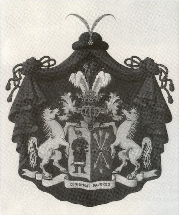 Image -- Coat of arms of the Skjoropadsky family.