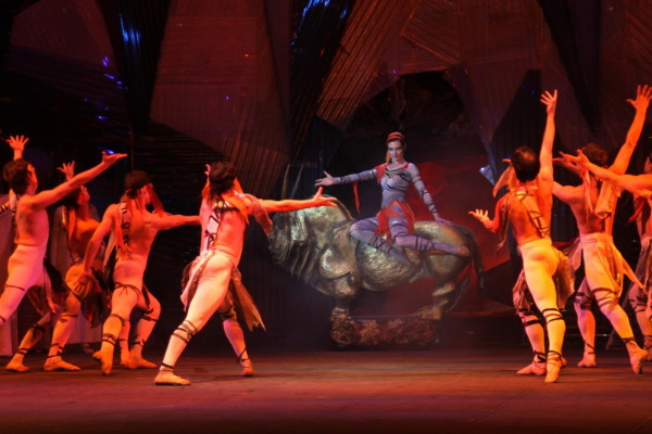 Image - Performance of Myroslav Skoryk's opera Moses at the Lviv National Academic Theater of Opera and Ballet.