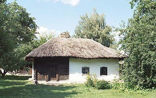 Image - The Skovoroda house in Chornukhy, Poltava oblast.