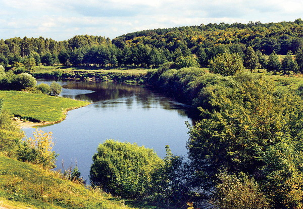 Image - The Sluch River in Zhytomyr oblast.