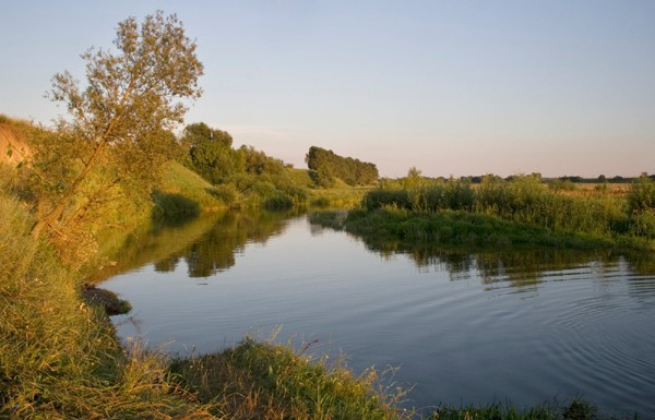 Image - The Sluch River near Liubar.