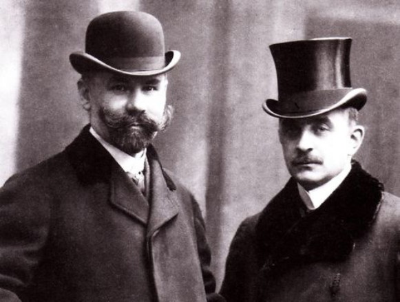 Image -- Stepan Smal-Stotsky and Mykola Vasylko