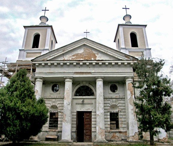Image - The Assumption Roman Catholic Church (1818) in Smila.