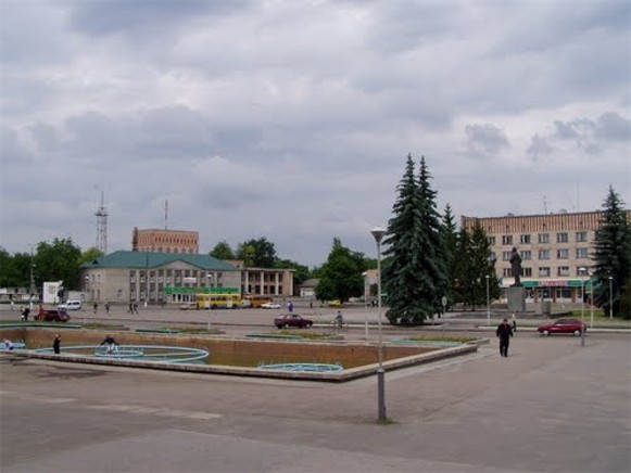 Image - Smila: town center.