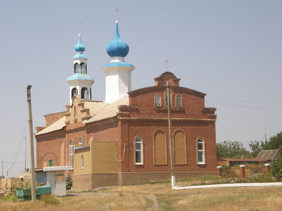 Image - Snizhne, Donetsk oblast: Orthodox church.