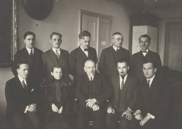 Image - The Society of Writers and Journalists leaders (Lviv 1939).