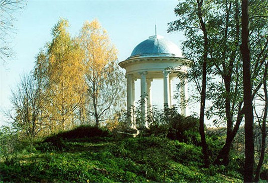 Image - A rotunda in the Sokyryntsi park.