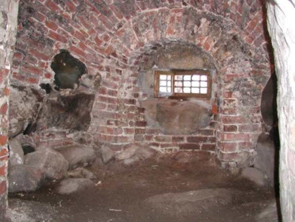 Image - Solovets Islands monastery: the cell in which Hetman Petro Kalnyshevsky was imprisoned and died.