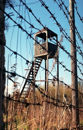Image - A watch tower in a Soviet labor camp.