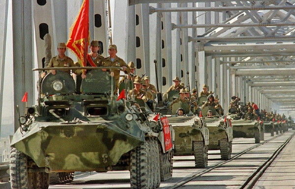 Image - Soviet troops in Afghanistan (1980s).