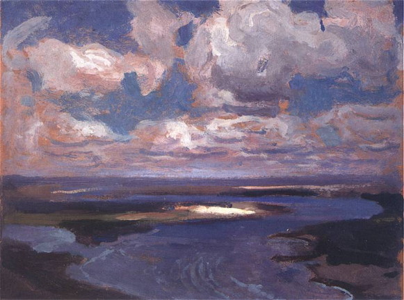 Image - Jan Stanislawski: The Dnieper (1904).