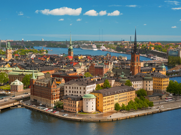 Image - A panorama of Stockholm, Sweden.