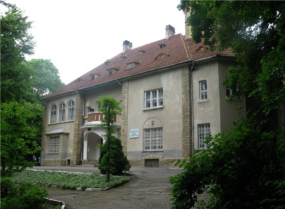 Image - The former Orenstein family palace (1912) in Storozhynets (today part of the forestry tekhnikum).