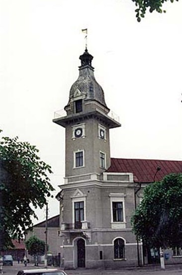 Image - The town hall in Storozhynets, Chernivtsi oblast.