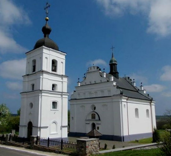 Image - Saint Elijah's Church in Subotiv (1653).