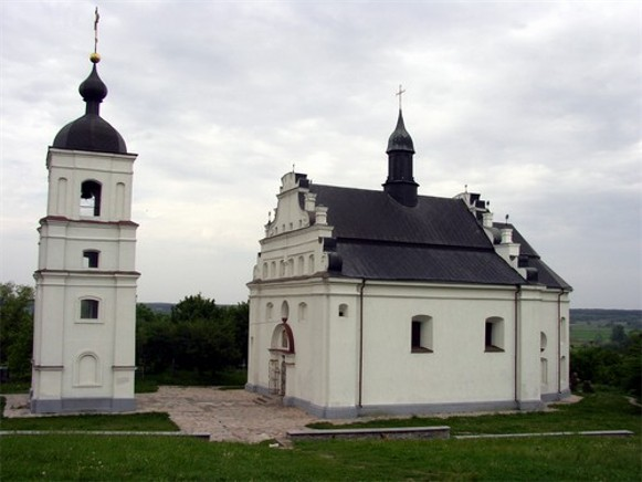 Image -- Saint Elijah's Church in Subotiv (1653).