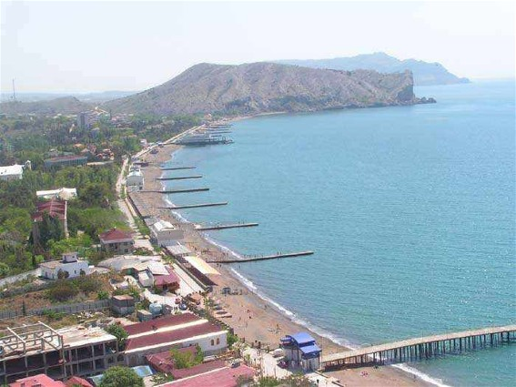 Image - The view of Sudak in the Crimea.