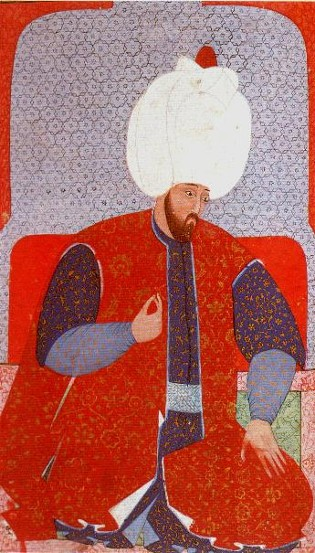 Image - A portrait of Sultan Suleyman the Magnificent.