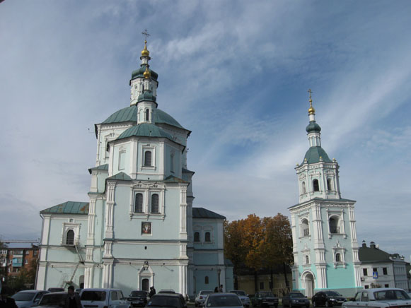 Image - Sumy: Church of the Resurrection (completed in 1702).