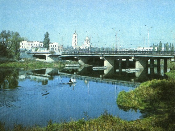 Image -- A bridge over the Psol River in Sumy.