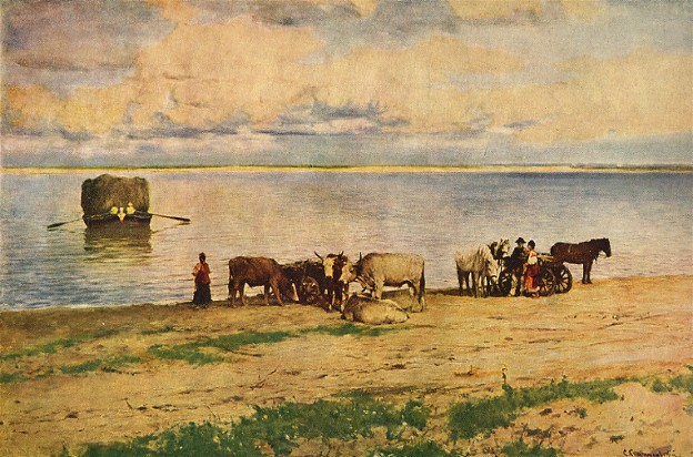 Image - Serhii Svitoslavsky: Crossing the Dnieper.