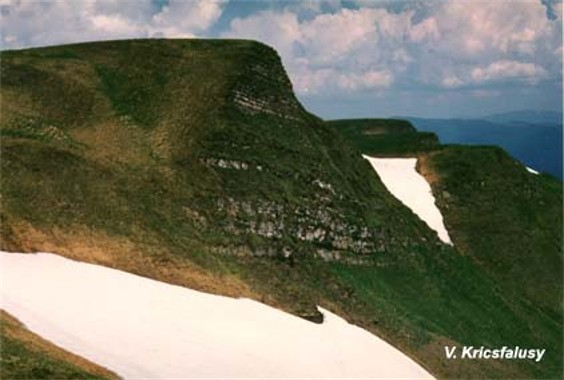 Image -- Mounts Zhandarmy in the Svydivets mountain group.
