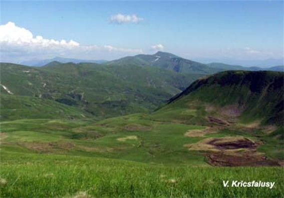 Image - A landscape of the Svydivets mountain group.
