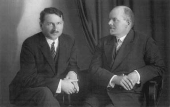 Image - Symon and Oleksander Narizhny (Prague 1928).