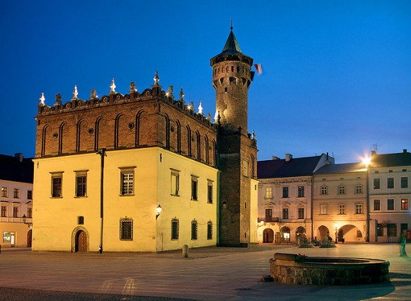 Image - Tarnow: city center.