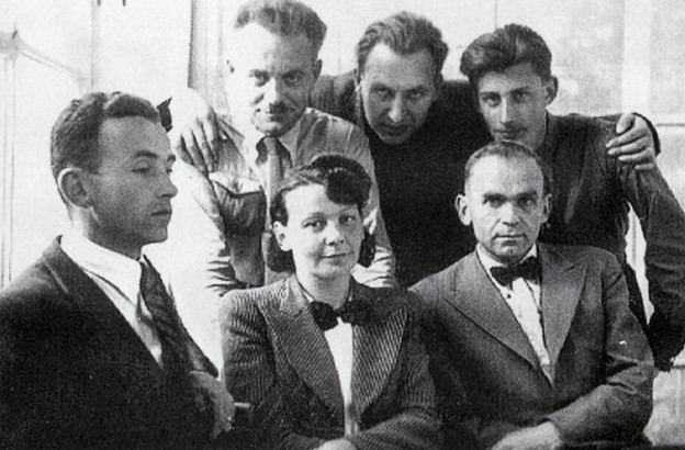 Image - Olena Teliha, Ulas Samchuk, and other OUN expeditionary group members (Lviv 1941).