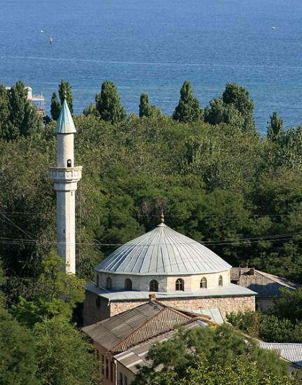 Image - The Teodosiia mosque.