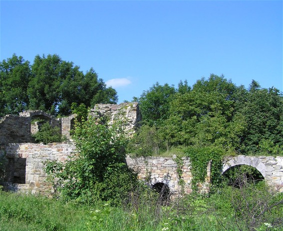 Image - Ruins of the Terebovlia castle, Ternopil oblast.