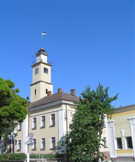 Image - A town hall in Terebovlia, Ternopil oblast.