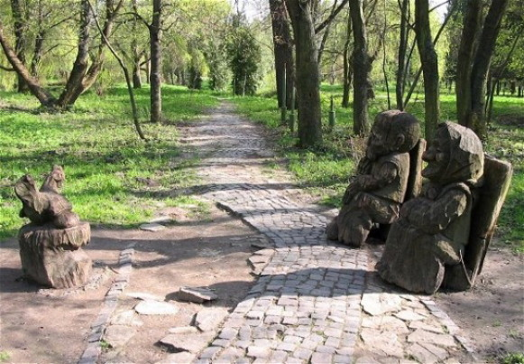 Image - Ternopil: the Topilche Park.