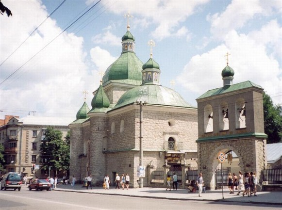 Image -- Ternopil: Church of Christ's Nativity  (1596–8).