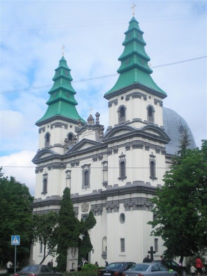 Image - The Dominican Church in Ternopil (1745-9).