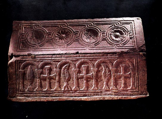 Image - An 11th-century sarcophagus found near the location of the Church of the Tithes.