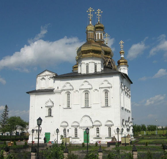 Image - Tiumen, Siberia: Trinity Church (1710s) built in the Cossack Baroque style.