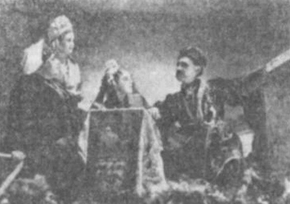 Image - Tobilevych Teater performance: Marusia Bohuslavka (1938).