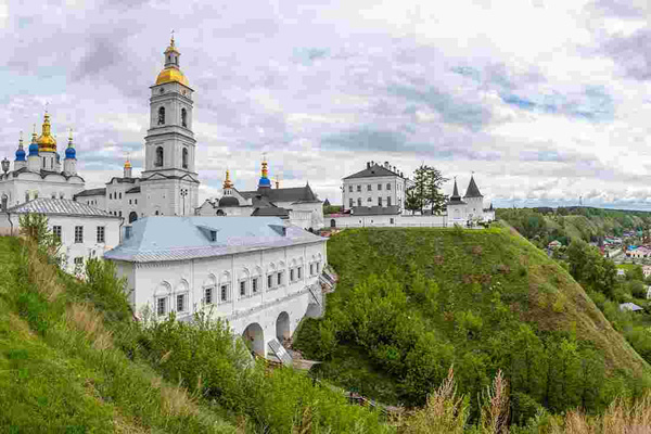 Image - Tobolsk-Kremlin, Siberia: built, partially, in the Cossack Baroque style.