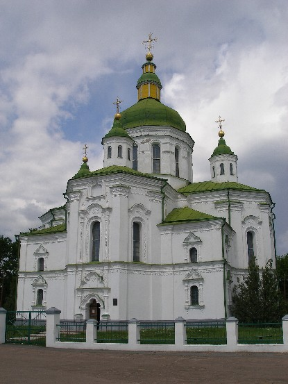 Image - The Transfiguration Church in Velyki Sorochyntsi, Poltava oblast.
