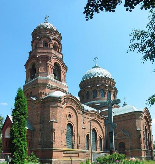 Image - Trostianets (Sumy oblast): Church of the Assumption.