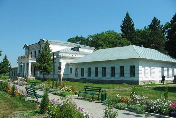 Image - Trostianets (Sumy oblast): 18th-19th-century palace.