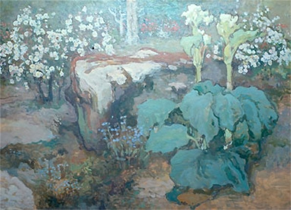 Image - Ivan Trush: In the Garden.