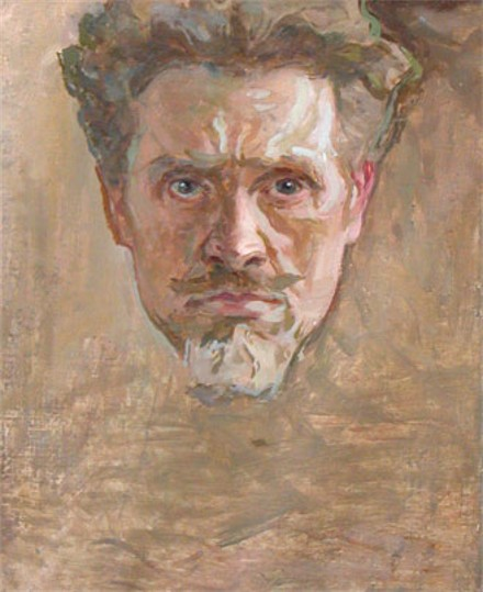 Image - Ivan Trush: Self-portrait.