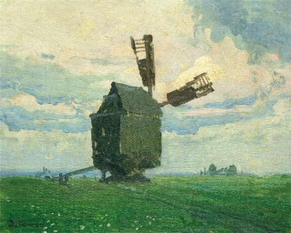 Image - Ivan Trush: A Windmill.